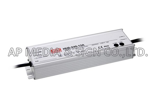 MW-1-0240 // Power Supply Mean Well HLG-240H-12A (192W / 16A)