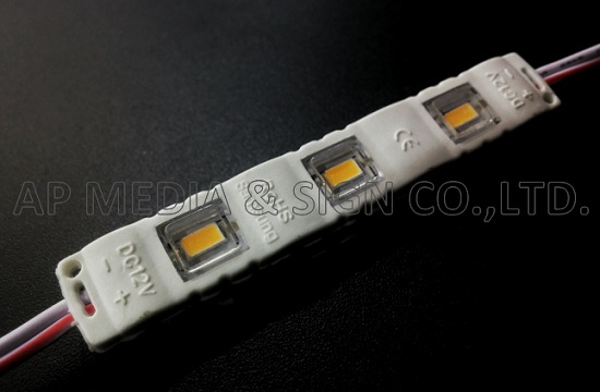 MC1-5730-3-WW // 3-LED Module 5730, Warm White Color 3000K