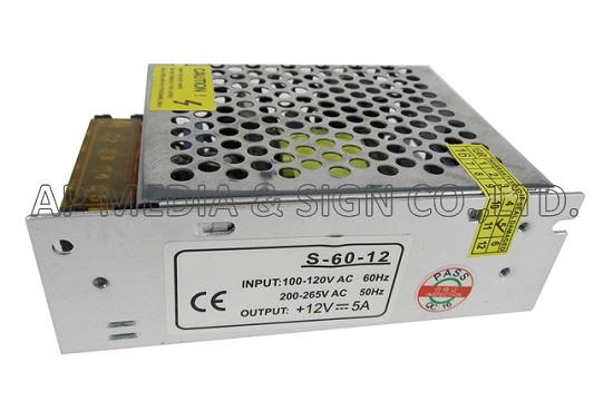 PS3-0-0060 // หม้อแปลง Power Supply 12V-5A (60W)
