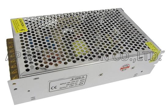 PS3-2-0200 // หม้อแปลง Power Supply 5V-40A (200W)