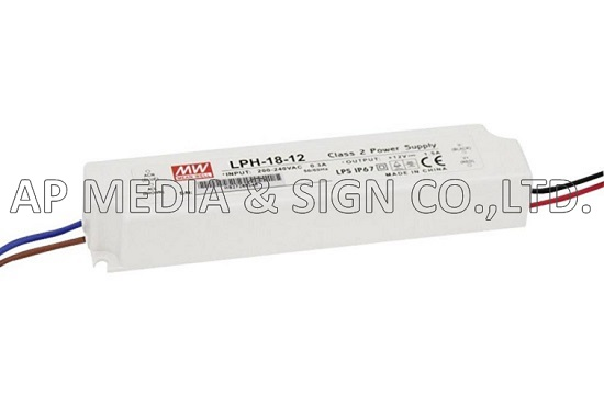 MW-2-0018 // Power Supply Mean Well LPH-18-12 (18W / 1.5A)