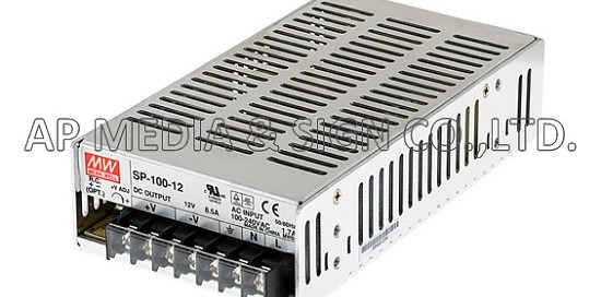 MW-3-0100 // Power Supply Mean Well SP-100-12 (102W / 8.5A)