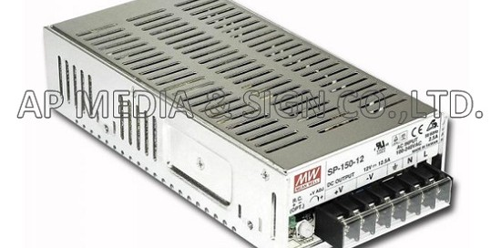 MW-3-0150 // Power Supply Mean Well SP-150-12 (150W / 12.5A)