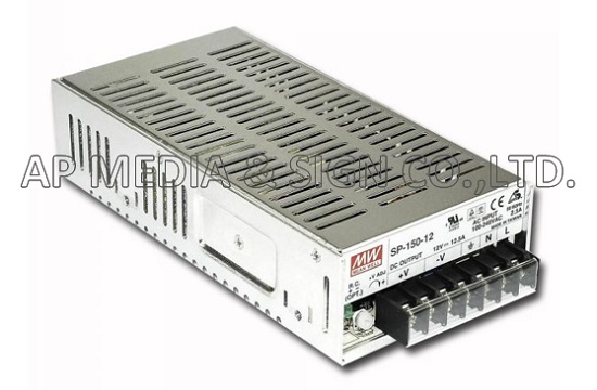 Power Supply Mean Well SP-150-12 (150W / 12.5A)