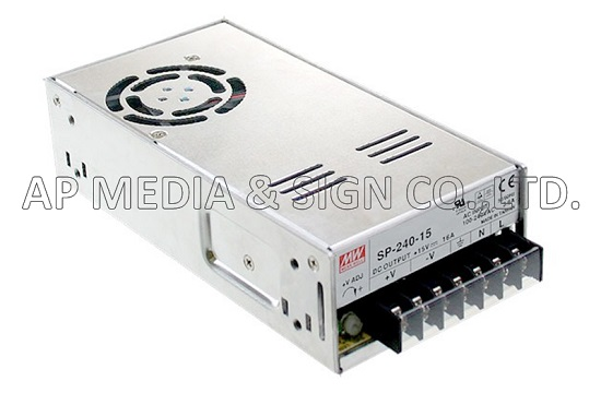 MW-3-0240 // Power Supply Mean Well SP-240-12 (240W / 20A)