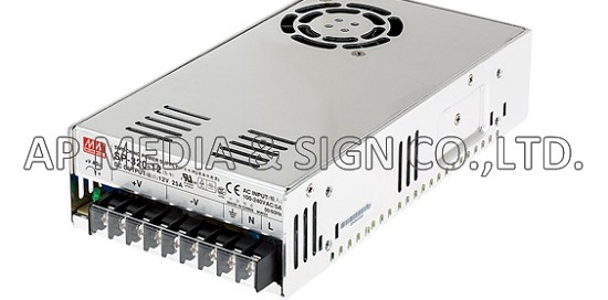 MW-3-0320 // Power Supply Mean Well SP-320-12 (300W / 25A)