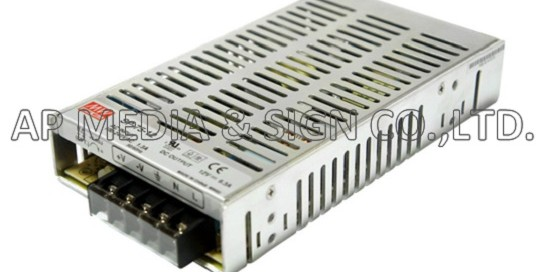 MW-3-0075 // Power Supply Mean Well SP-75-12 (75.6W / 6.3A)